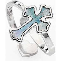 anello donna gioielli Amen Croce ABMPG2