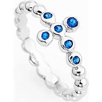 anello donna gioielli Amen Croce ABOBBL-14