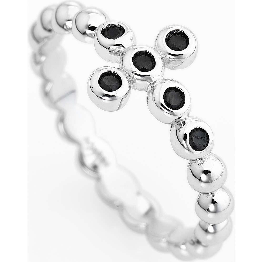 anello donna gioielli Amen Croce ABOBN-14