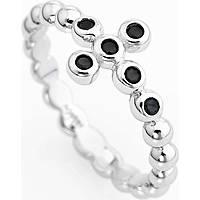 anello donna gioielli Amen Croce ABOBN-18