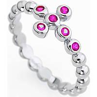 anello donna gioielli Amen Croce ABOBR-14