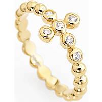 anello donna gioielli Amen Croce ABOGB-12