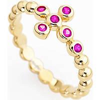 anello donna gioielli Amen Croce ABOGR-12