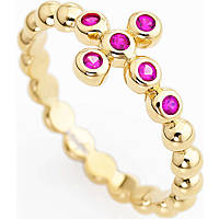 anello donna gioielli Amen Croce ABOGR-18
