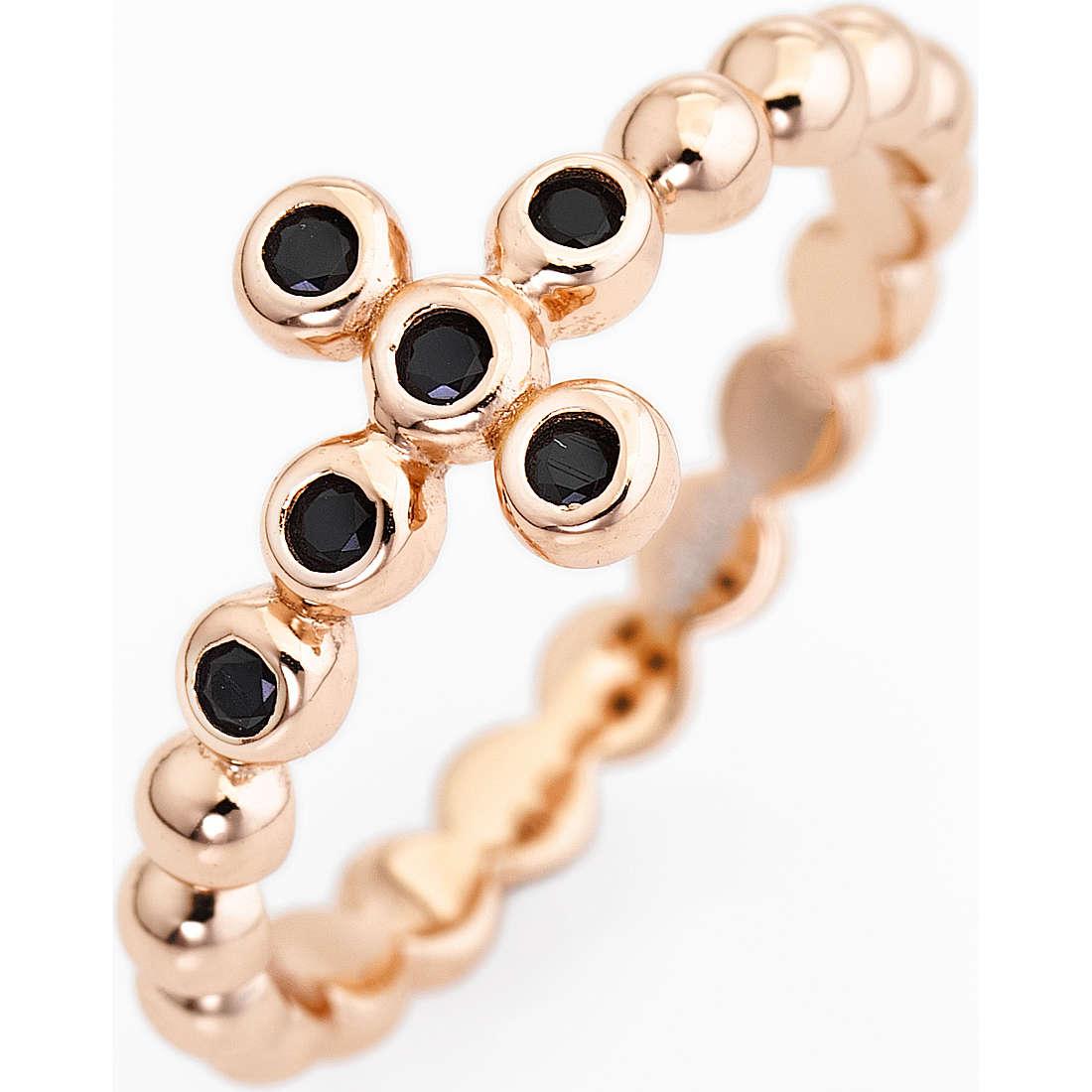 anello donna gioielli Amen Croce ABORN-10