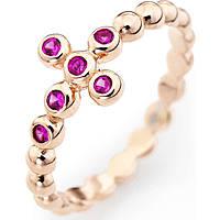 anello donna gioielli Amen Croce ABORR-18