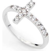 anello donna gioielli Amen Croce ACOBB-14