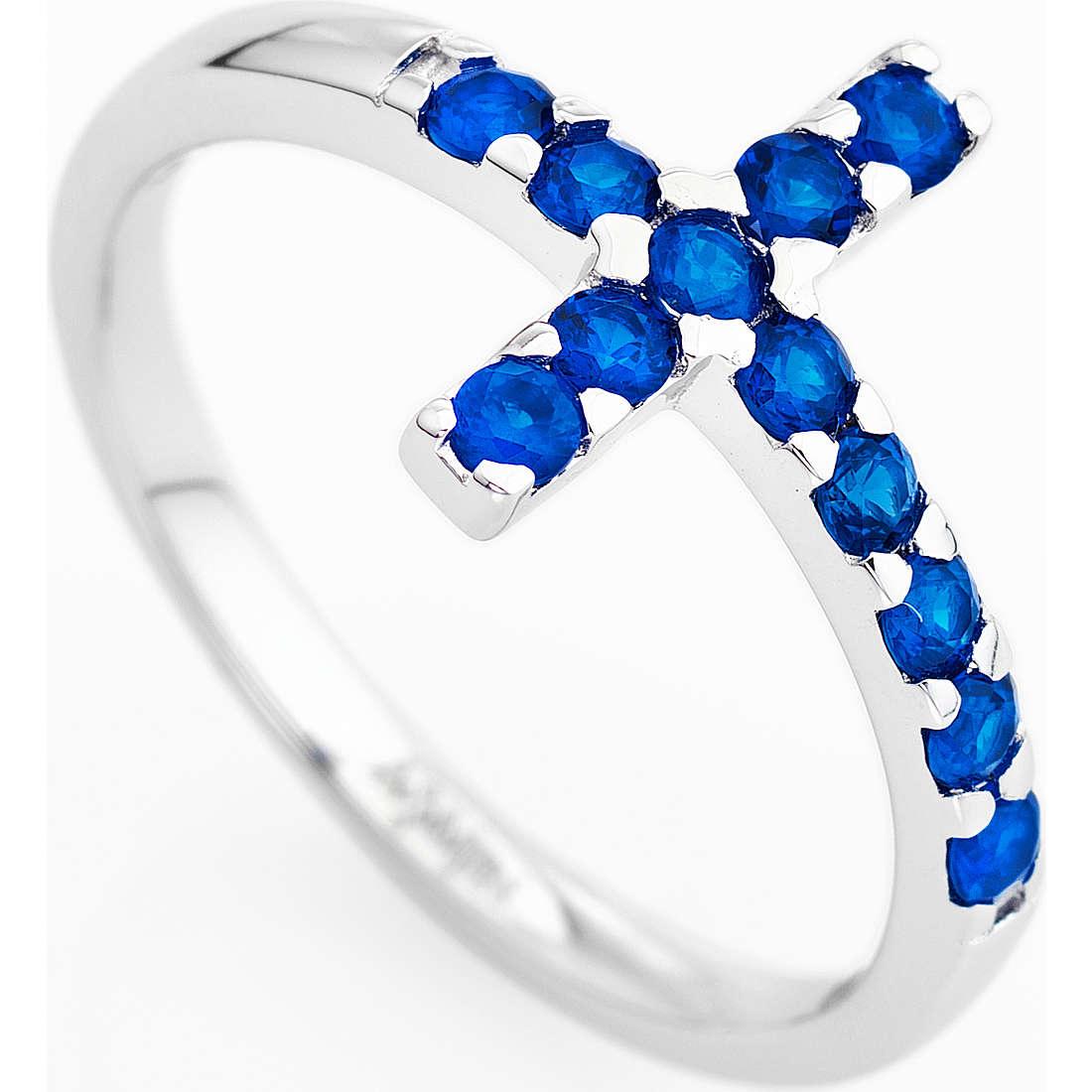 anello donna gioielli Amen Croce ACOBBL-12
