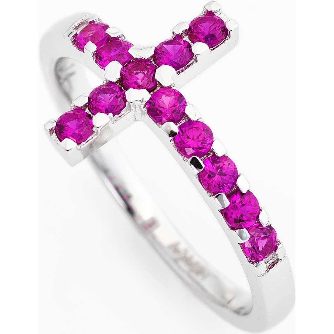 anello donna gioielli Amen Croce ACOBR-12