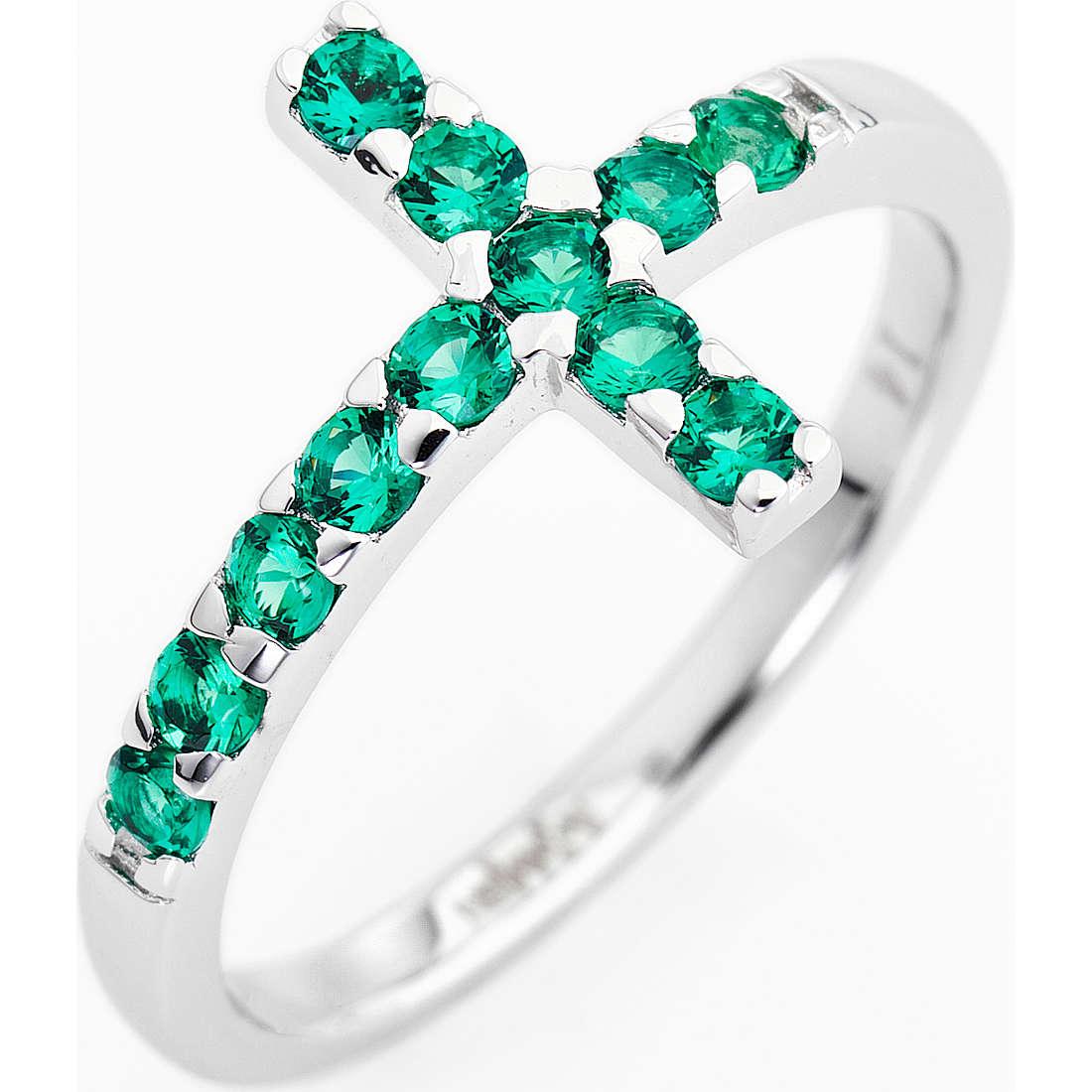 anello donna gioielli Amen Croce ACOBV-14