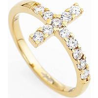 anello donna gioielli Amen Croce ACOGB-12