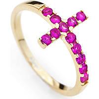 anello donna gioielli Amen Croce ACOGR-14