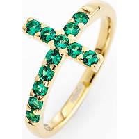 anello donna gioielli Amen Croce ACOGV-14