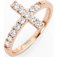 anello donna gioielli Amen Croce ACORB-10