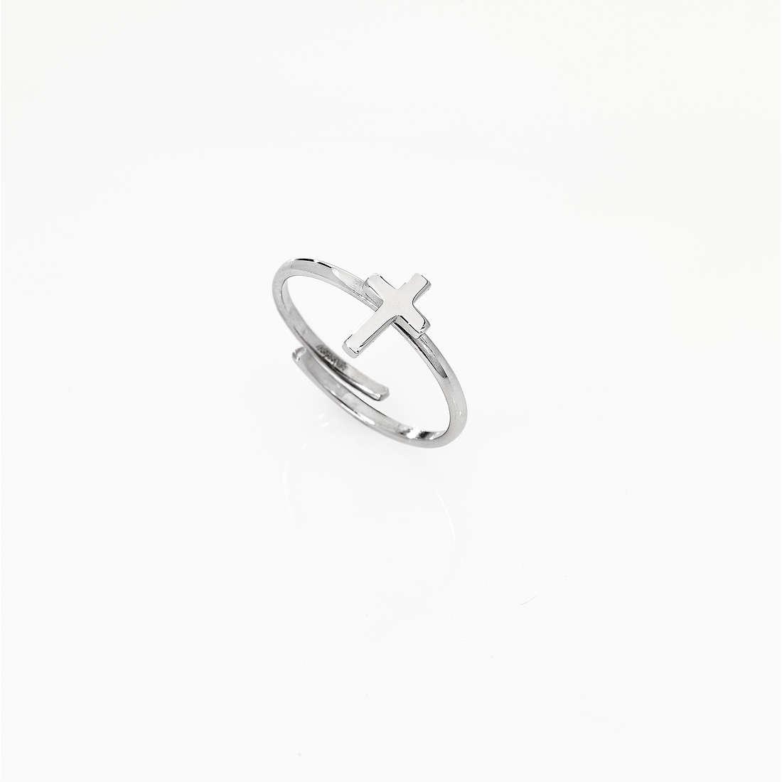 anello donna gioielli Amen Croce AFCB