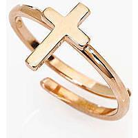anello donna gioielli Amen Croce AFCR