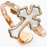 anello donna gioielli Amen Croce ARMPB2