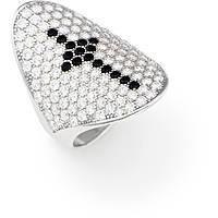 anello donna gioielli Amen Croci AOCRBN-18