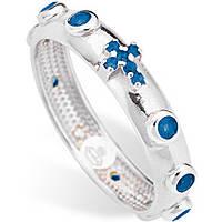 anello donna gioielli Amen Rosario AROBBL-16