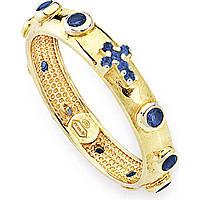 anello donna gioielli Amen Rosario AROGBL-12