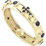 anello donna gioielli Amen Rosario AROGN-18