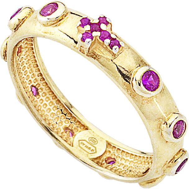 anello donna gioielli Amen Rosario AROGR-14
