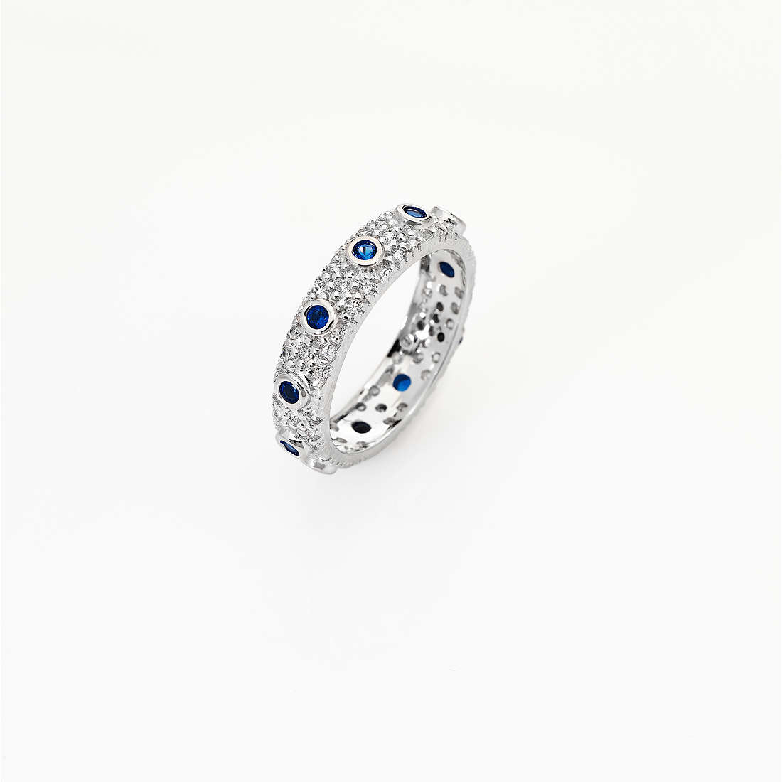 anello donna gioielli Amen Rosario AROZBBL-12