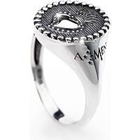 anello donna gioielli Amen Sacro Cuore ASC-14