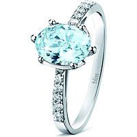 anello donna gioielli Bliss Azzurra 20042537