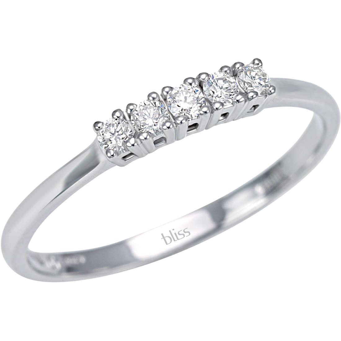 anello donna gioielli Bliss Carezza 20060791