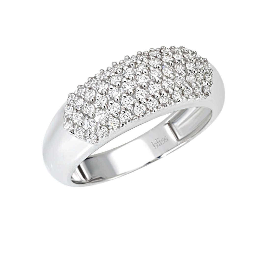 anello donna gioielli Bliss Classic Pave' 20064161