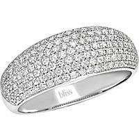 anello donna gioielli Bliss Classic Pave' 20064346