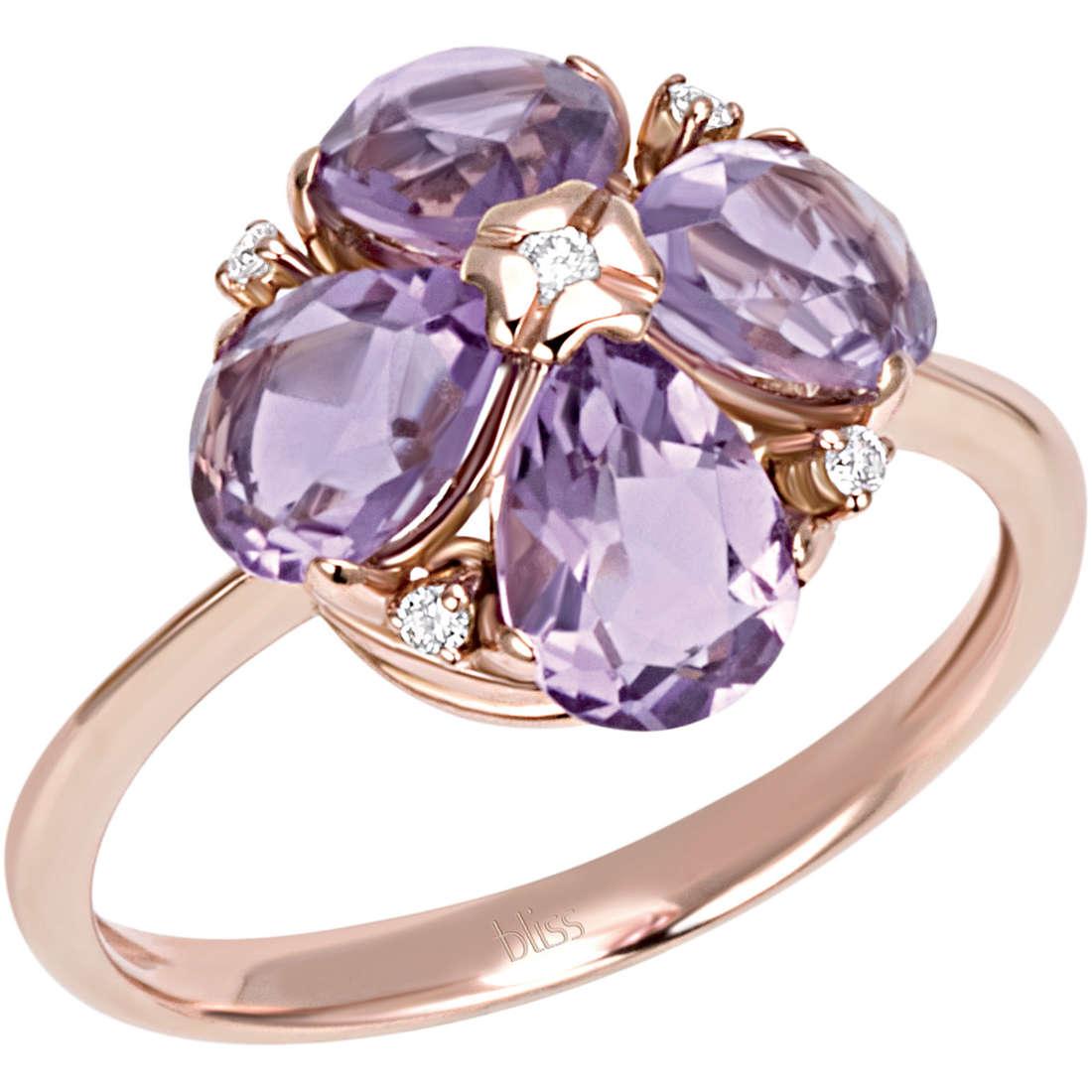 anello donna gioielli Bliss Flower 20069646