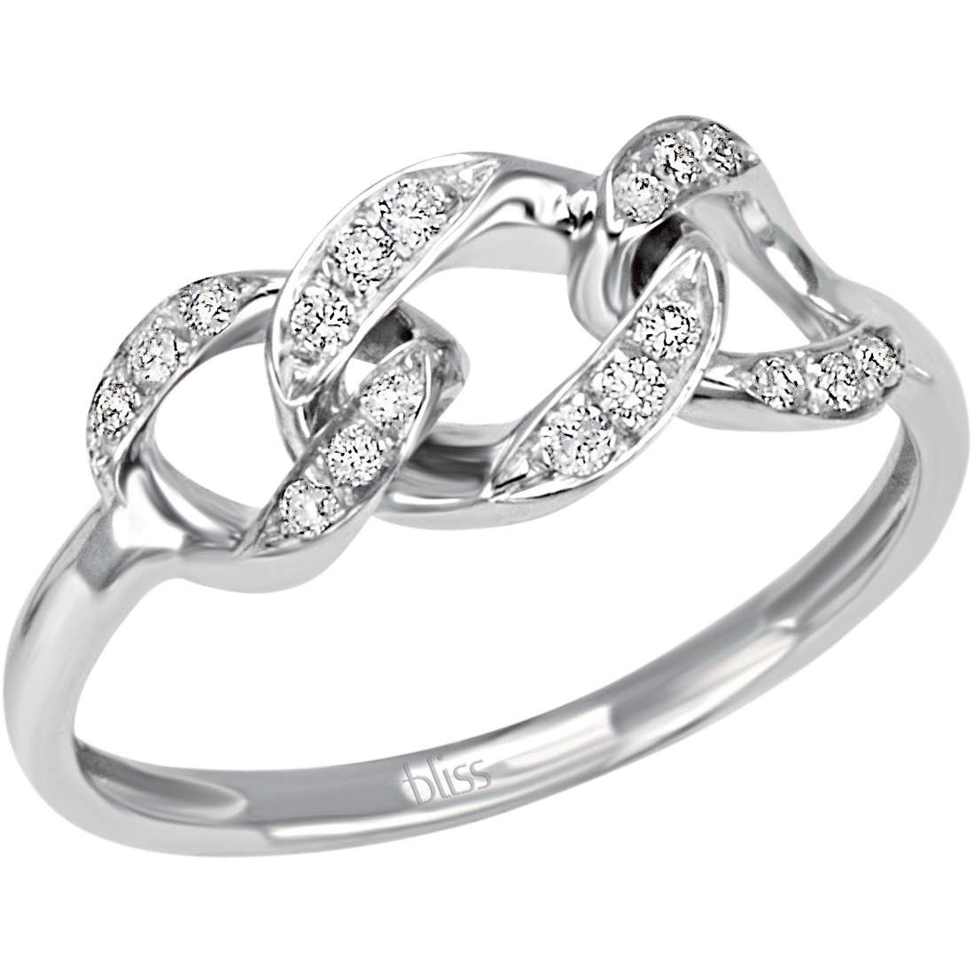 anello donna gioielli Bliss Intreccio 20070740