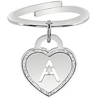 anello donna gioielli Bliss Love Letters 20081389