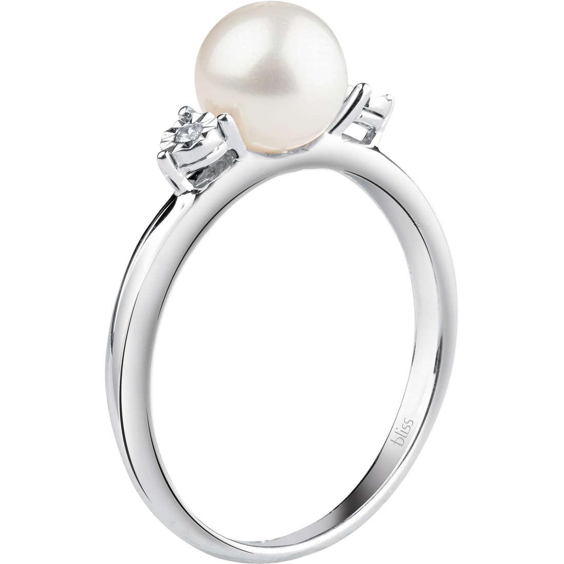 anello donna gioielli Bliss Rugiada Perle 20070967