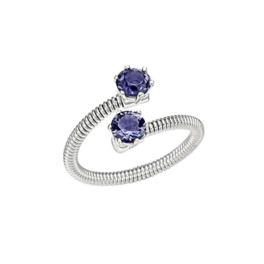 anello donna gioielli Bliss Silver Light 20061881