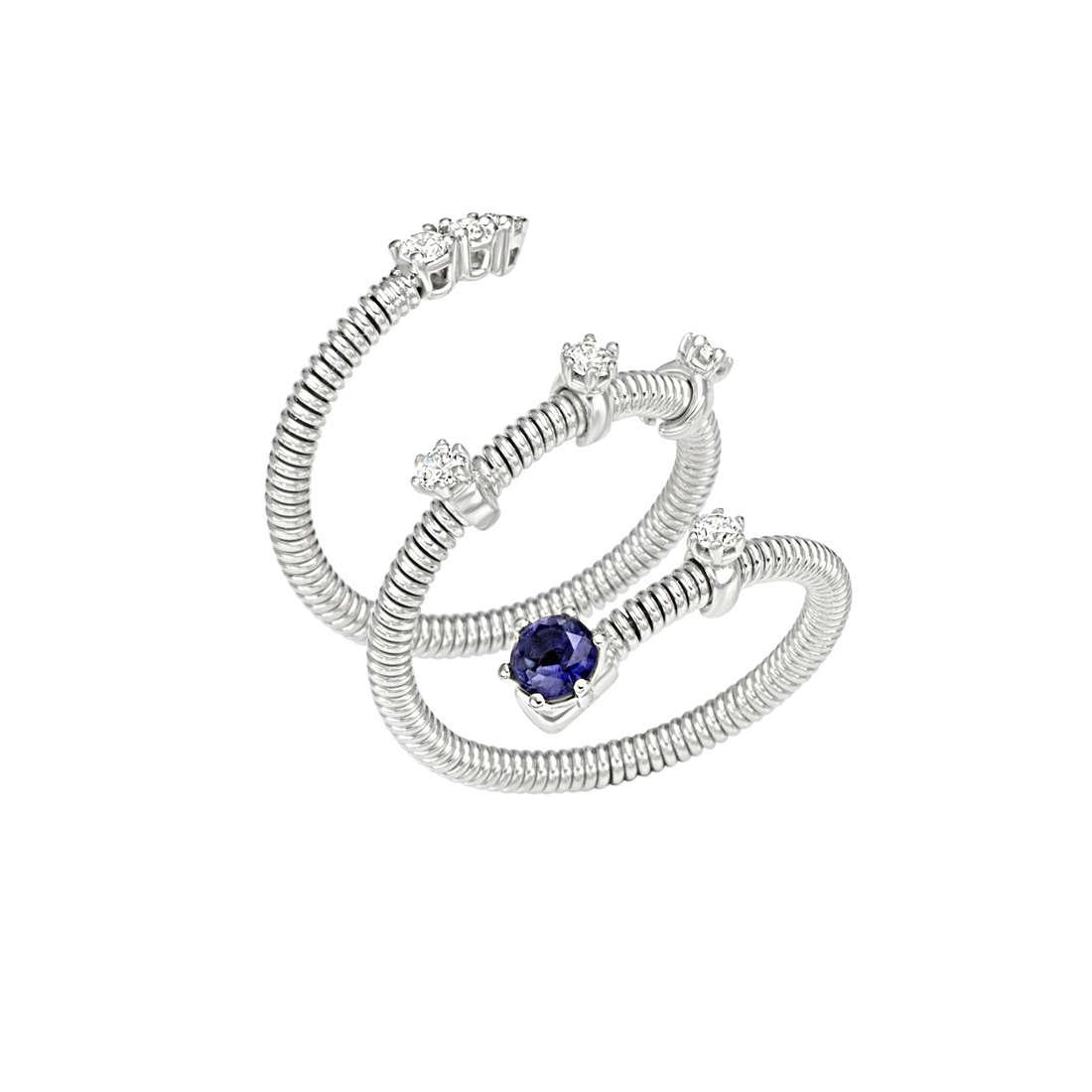 anello donna gioielli Bliss Silver Light 20061885