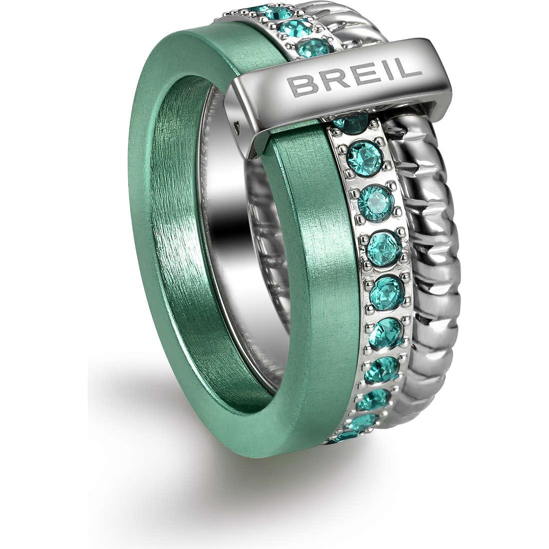 anello donna gioielli Breil Breilogy Torsion TJ1726