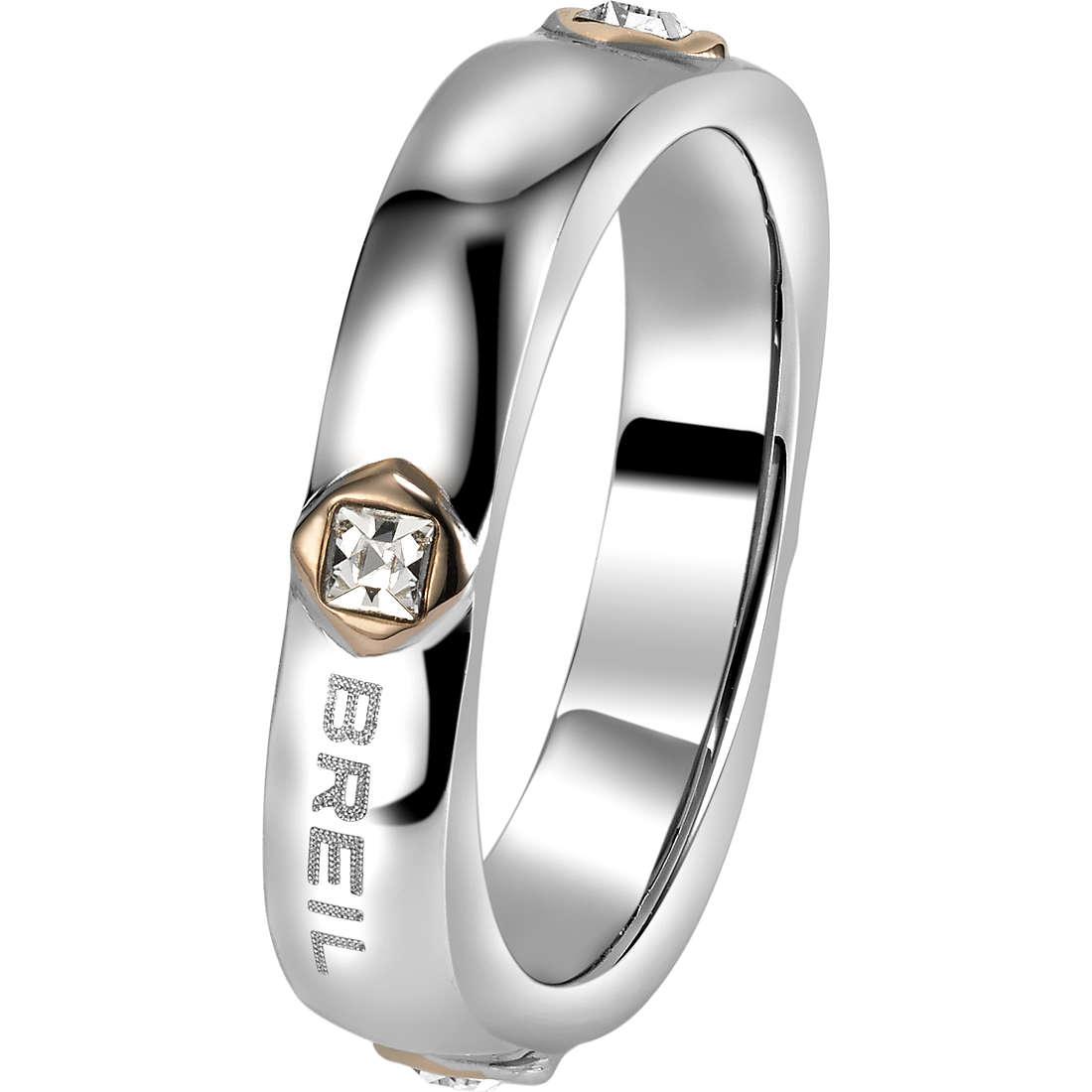 anello donna gioielli Breil Crossing Love TJ1555