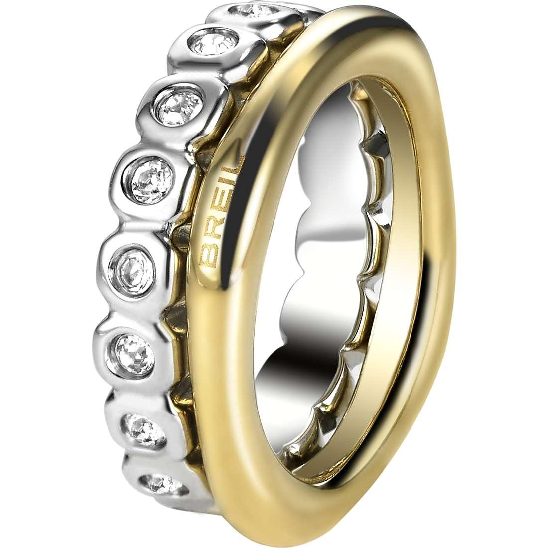 anello donna gioielli Breil Rolling Diamonts TJ1544
