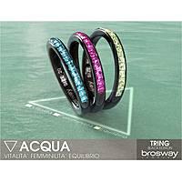 anello donna gioielli Brosway Tring Black Edition BTG10B