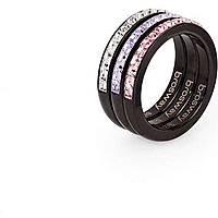 anello donna gioielli Brosway Tring Black Edition BTG11B