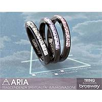 anello donna gioielli Brosway Tring Black Edition BTG11D