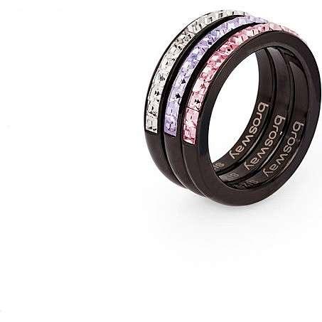 anello donna gioielli Brosway Tring Black Edition BTG11E