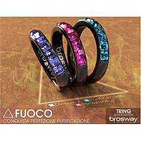 anello donna gioielli Brosway Tring Black Edition BTG13D