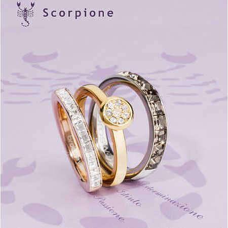 anello donna gioielli Brosway Tring Segno Zodiacale BTGZ08B