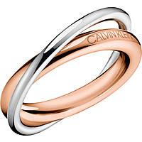 anello donna gioielli Calvin Klein Double KJ8XPR200106
