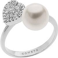 anello donna gioielli Comete Bianca ANP 374