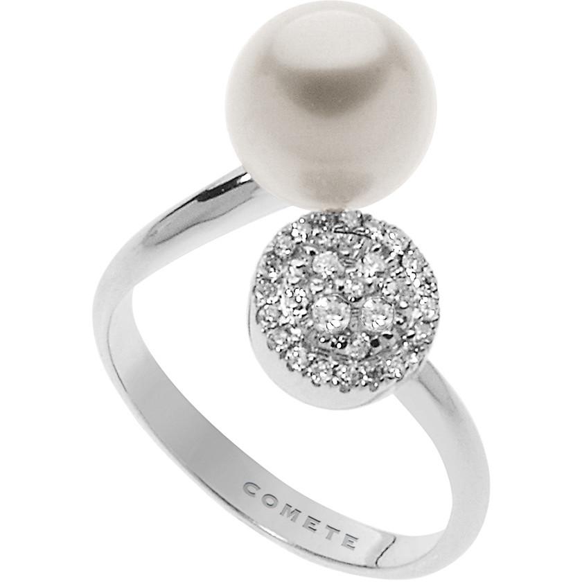 anello donna gioielli Comete Bianca ANP 375